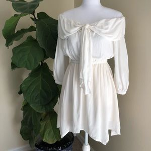 Dresses & Skirts - White Off The Shoulder Dress